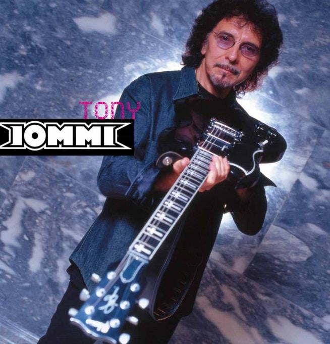 Metal Gitarrist Tony Iommi