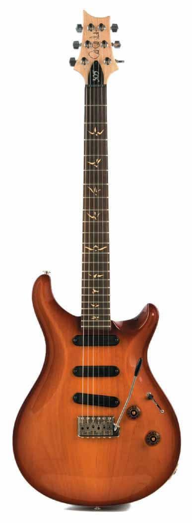PRS-Gitarre, stehend