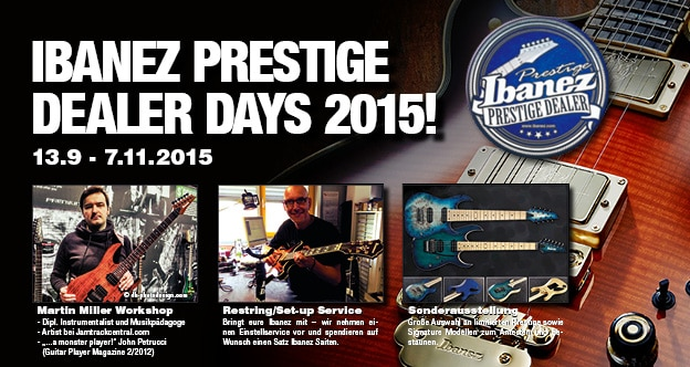 Ibanez Dealer Days