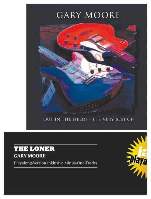 Gary Moore ist mit einigen Stücken in unserem Playalong-Shop erhätlich.