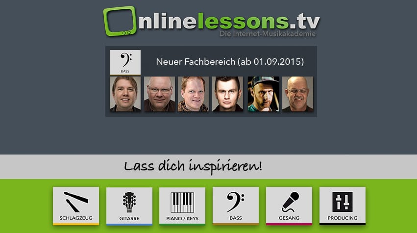 bass bei onlinelessons.tv