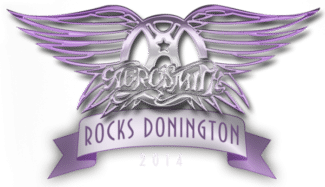 DVD Logo Aersomith Rocks Donington 2014