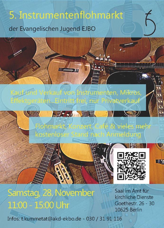 Berlin Muisker- und Instrumentenflohmarkt