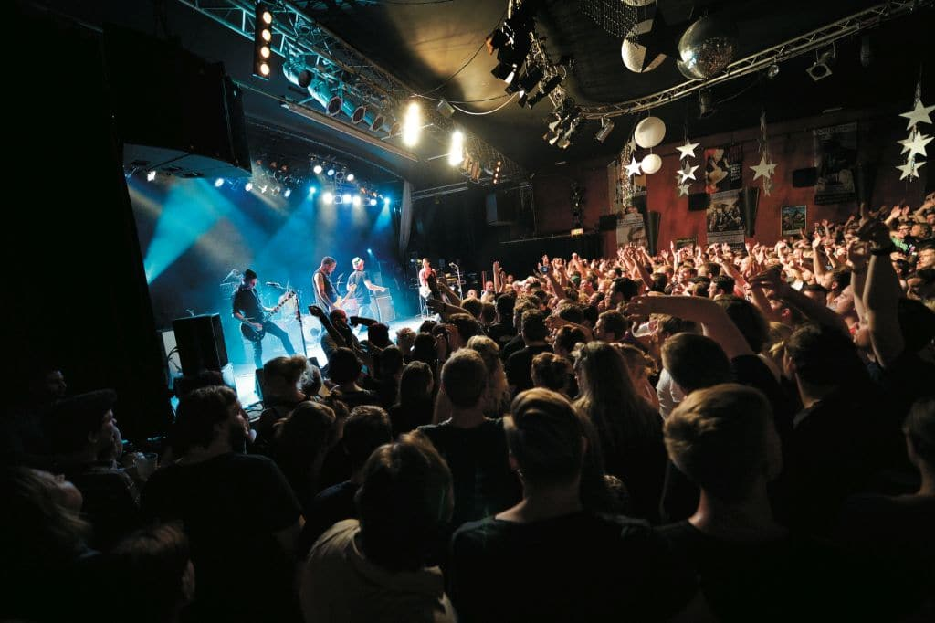 Beatsteaks auf der Bühne in Osnabrück