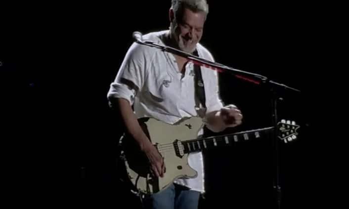 Eddie Van Halen auf der Bühne