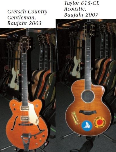 Gitarren von Peter Keller