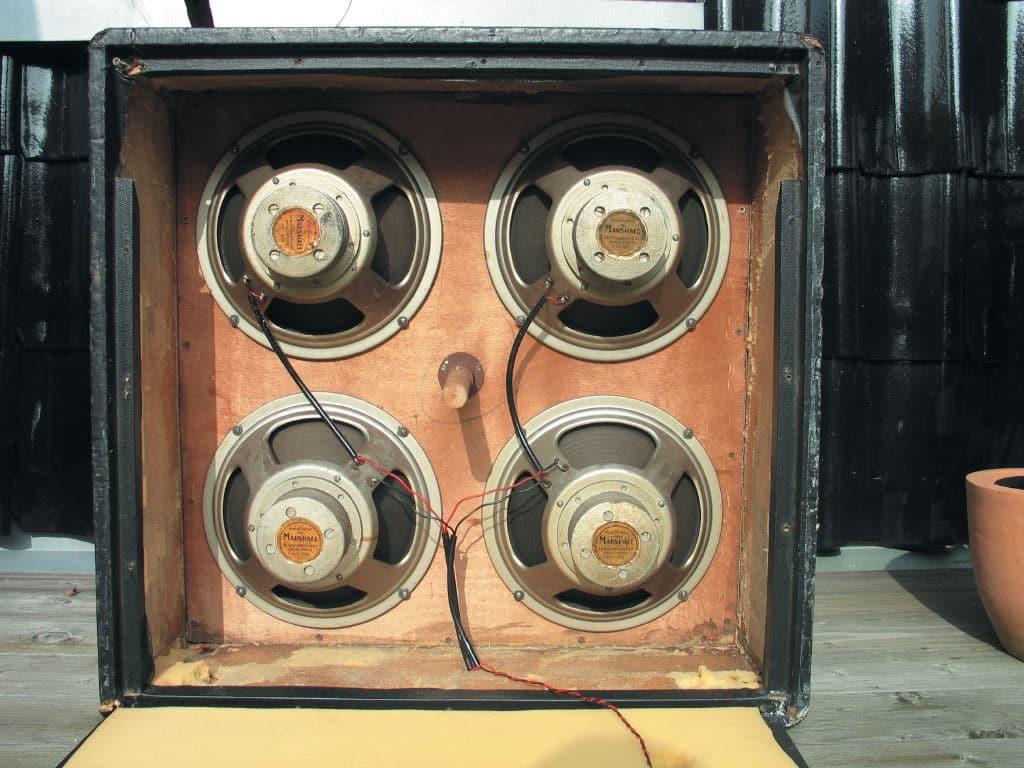 1963er 4×12-Box mit Celestion Alnicos