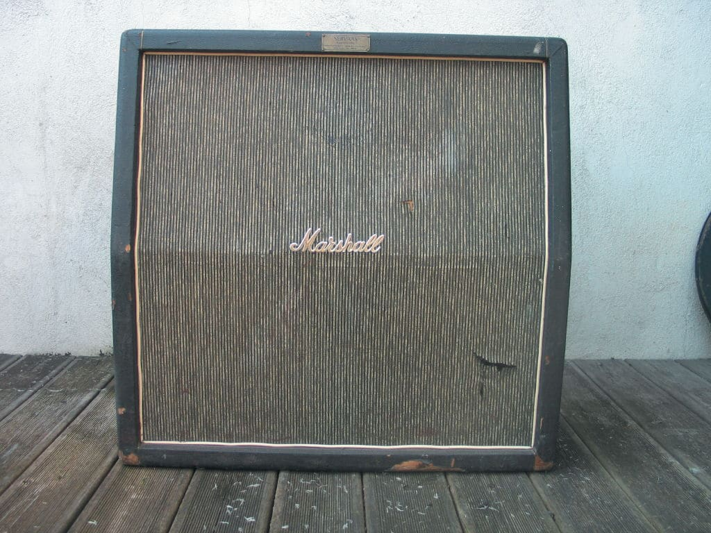 1967er Marshall Pinstripe 4×12-Box