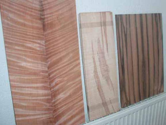 Diverse Holzsoerten