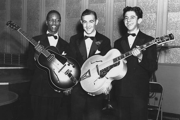 Musiker, Gitarren & laute Klängen, die das 20. Jahrhundert ...