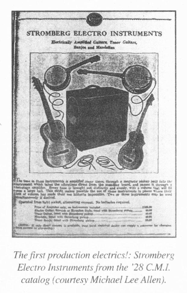 Anzeige von Stromberg aus dem Jahr 1928