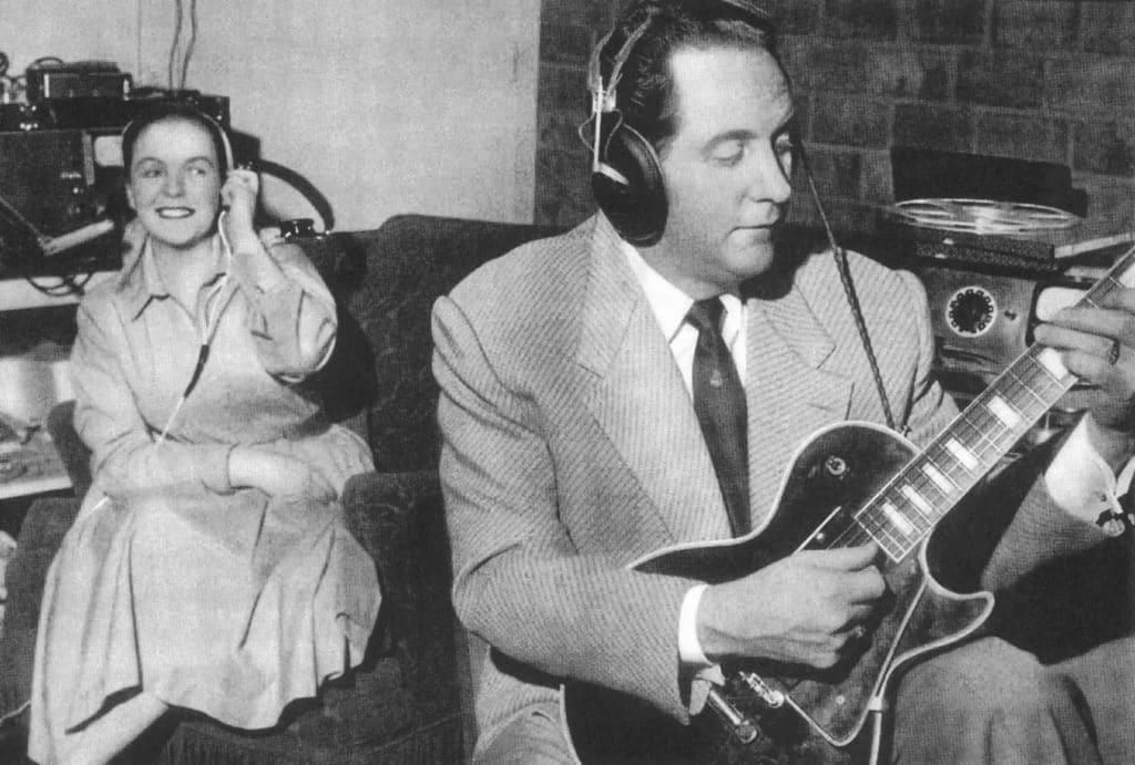 Mary Ford mit Ehemann