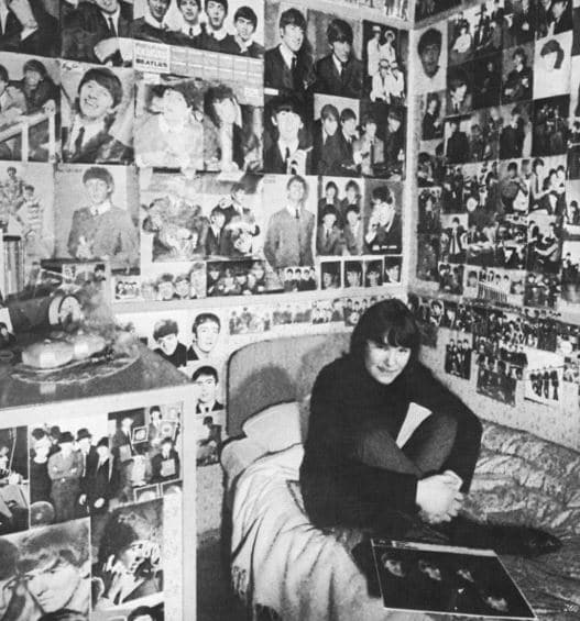 Beatles Fan-Zimmer