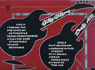 Tracklist im 50s-Design