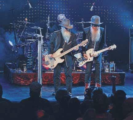Live 2008: Frank Beard, Dusty Hill & Billy Gibbons