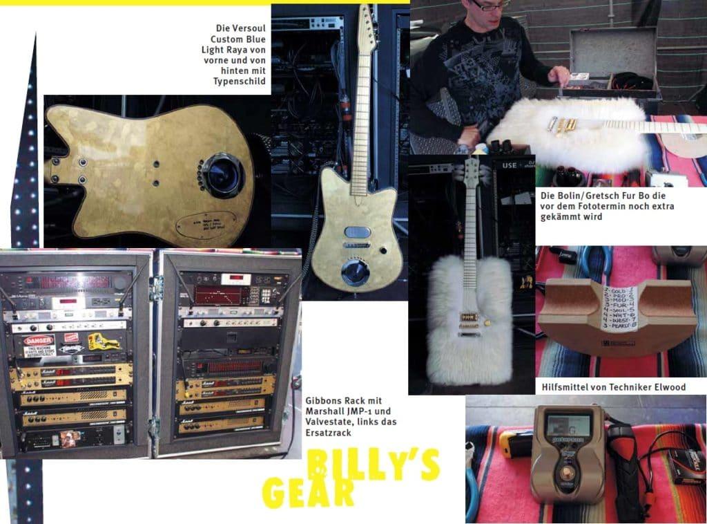 Gitarren von Billy Gibbons