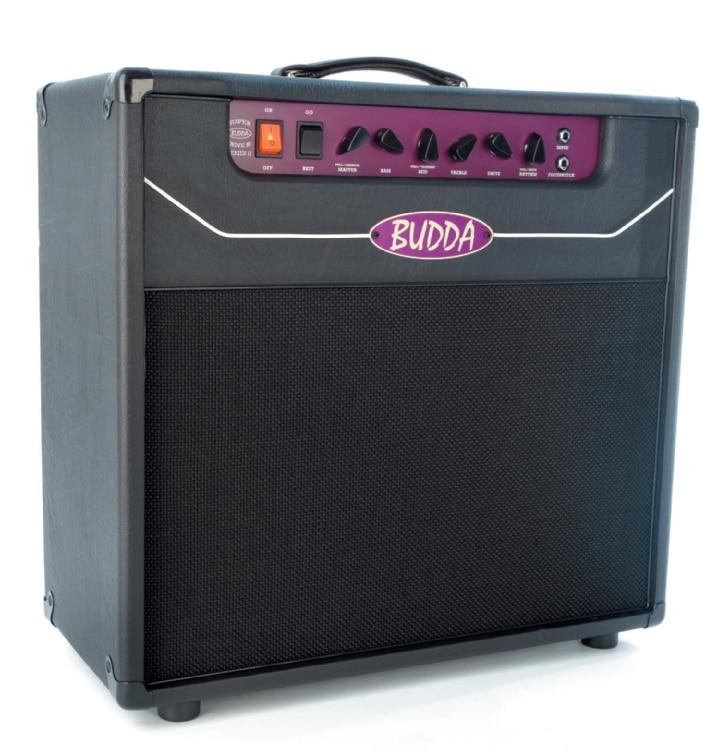E-Gitarren-Kofferverstärker von Budda, schwarz