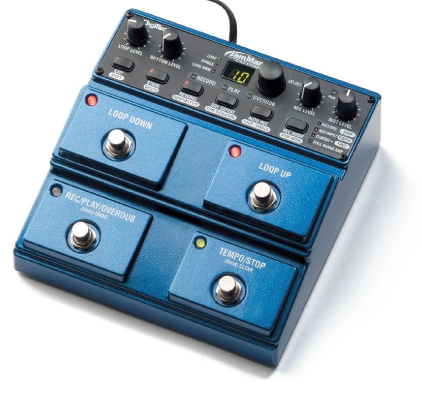 Looper von DigiTech, blau/schwarz