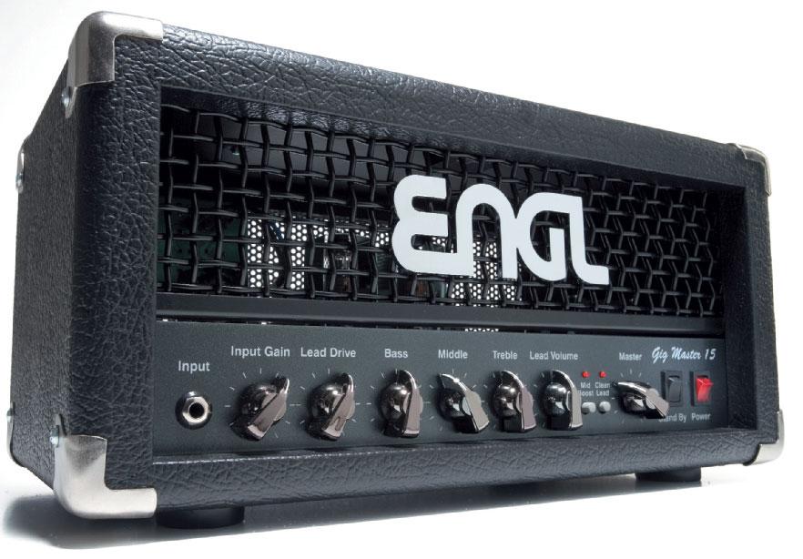 Gitarrenverstärker-Topteil von ENGL, schwarz