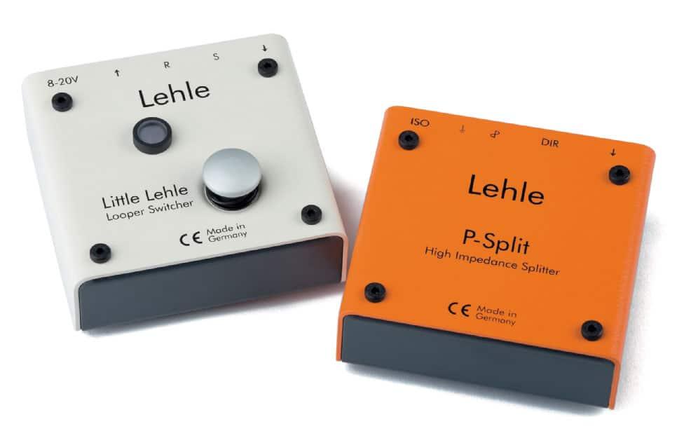 Lehle-Effektgeräte Little Lehle und P-Split II, weiß/orange