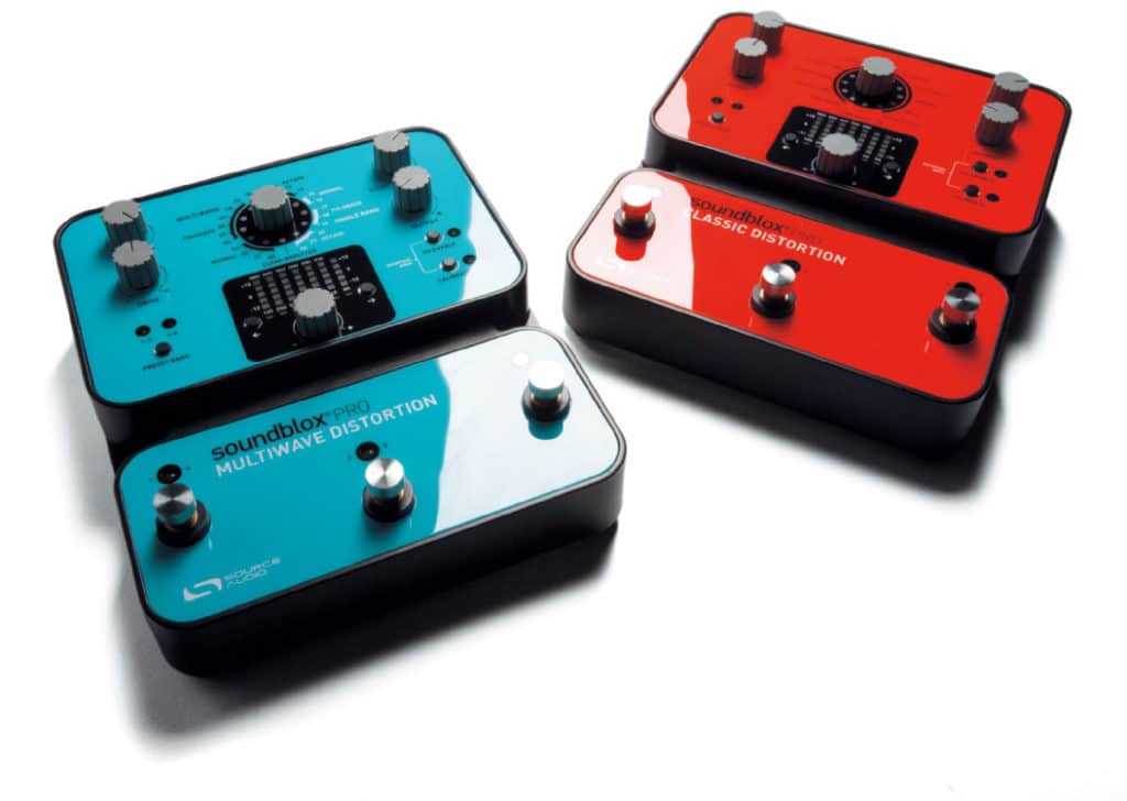 Source Audio Soundblox Bodeneffekte: Pro Classic Distortion und Pro Multiwave Distortion