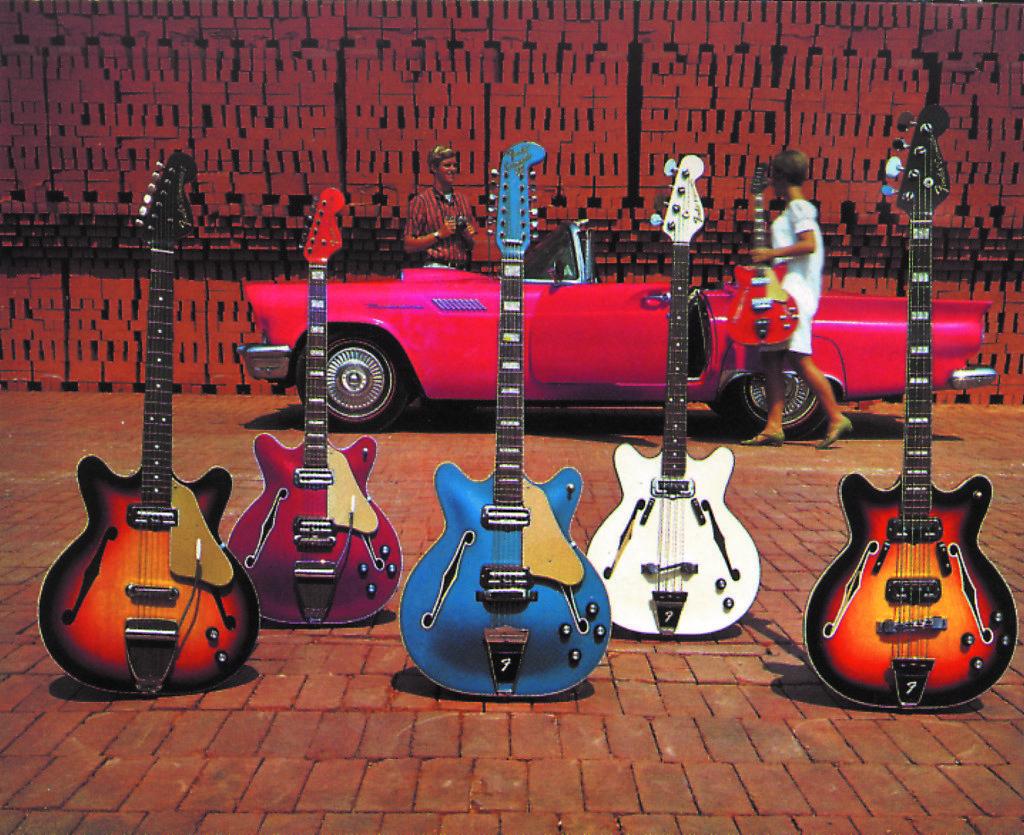 Coronado Guitars im Fender Katalog ´68