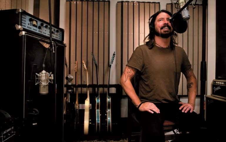 Dave im Studio