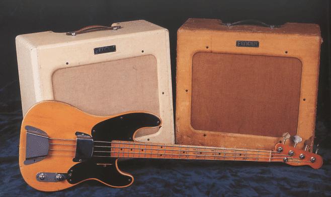 Fender bassmann-Amp 1952