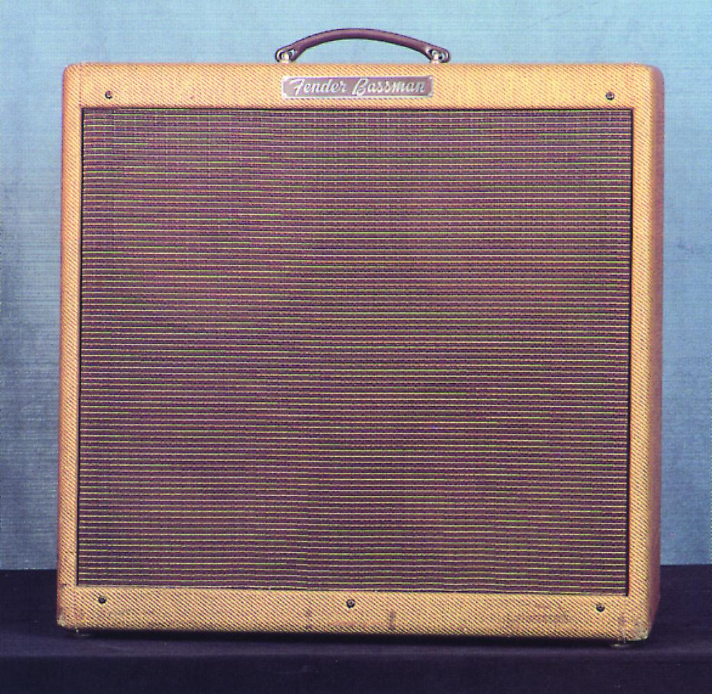 "4×10""- Bassman Amp"
