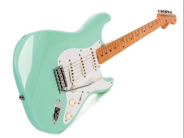Fender Stratocaster Mexico Classic 50s 60s Amp 70s Im Test Gitarre Amp Bass