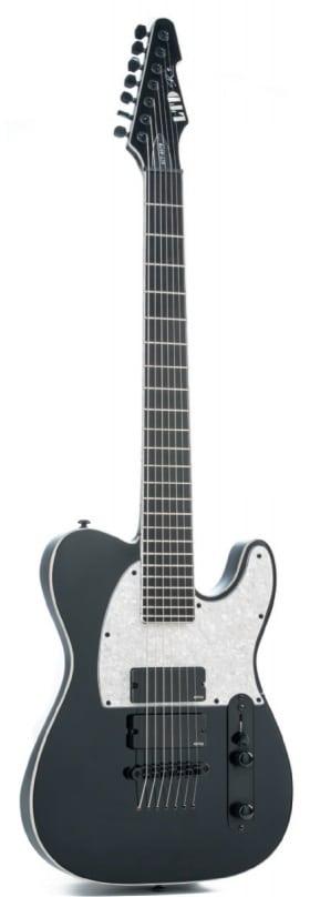 LTD Gitarre in Schwarz