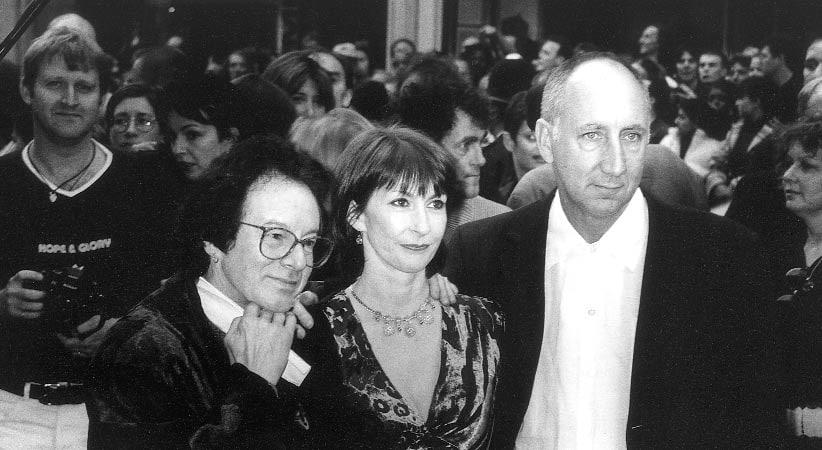Noel Redding mit 2 weiteren Personen