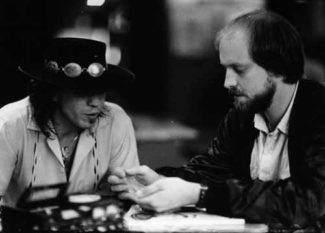 Stevie Ray Vaughan mit Dieter Roesberg