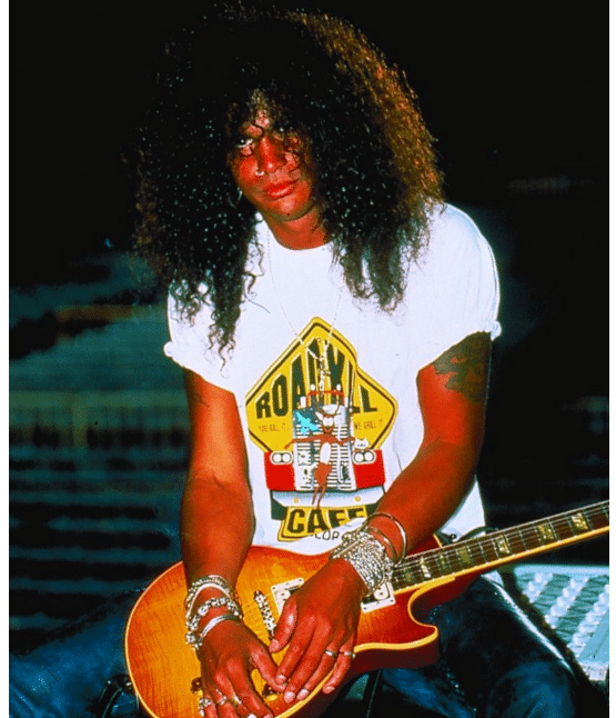"Saul Hudson alias ""Slash"""