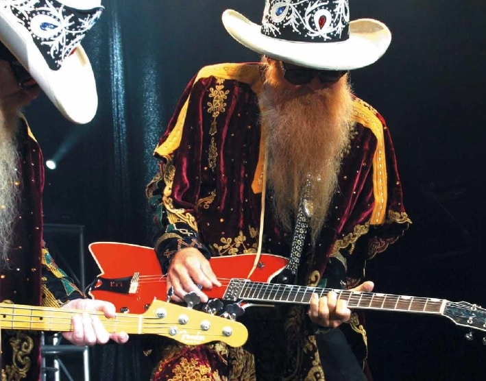 zz top hill und gibbons ber mescalore gitarre bass. Black Bedroom Furniture Sets. Home Design Ideas
