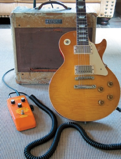Billy Gibbons Setup