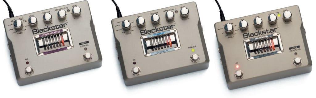 Drei Effektgeräte von Blackstar
