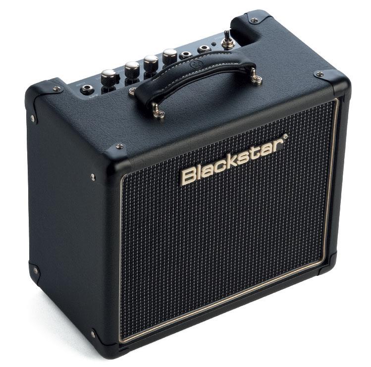 E-Gitarren-Kofferverstärker von Blackstar, schwarz