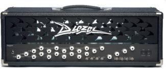 Gitarren-Topteil von Diezel, schwarz