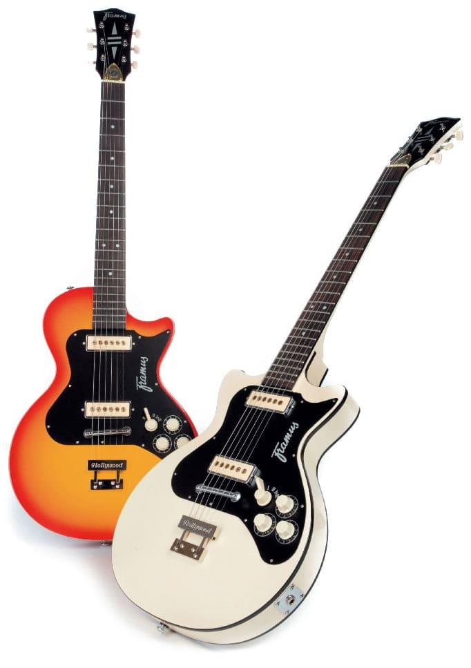 Zwei E-Gitarren von Framus