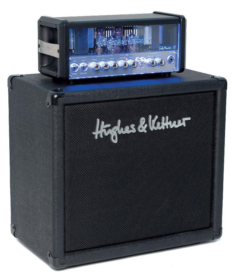 Gitarren-Vorverstärker und -Endstufe von Hughes & Kettner