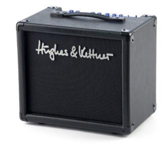 E-Gitarren-Verstärker von Hughes & Kettner, schwarz