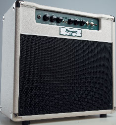 Combo-E-Gitarren-Verstärker von Ibanez, grau-schwarz