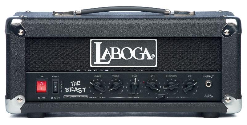 E-Gitarren-Topteil von Laboga, schwarz