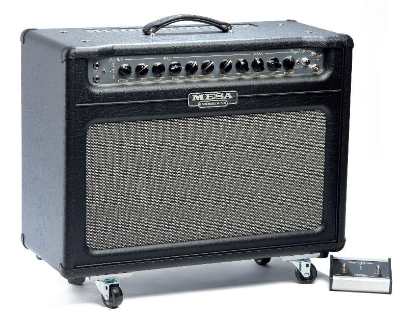 Combo-Gitarrenverstärker von Mesa/Boogie, schwarz/grau