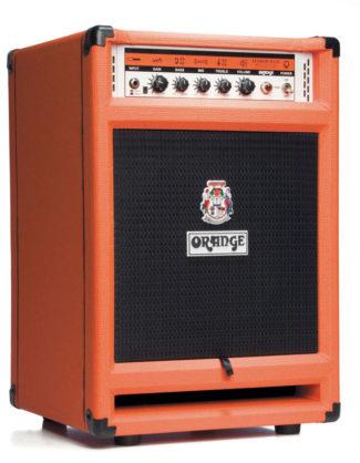 Bass-Verstärker von Orange, schwarz-orange