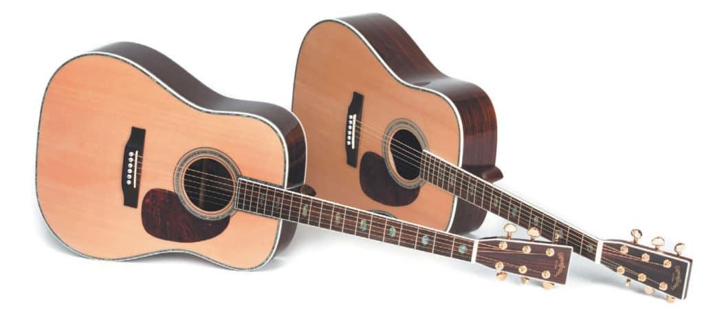 Zwei Westerngitarren von Sigma