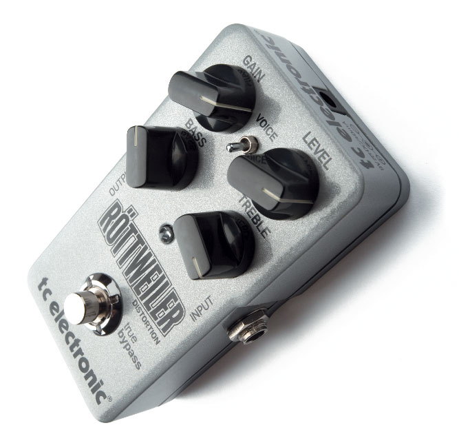 Distortion-Pedal von TC Electronic, grau
