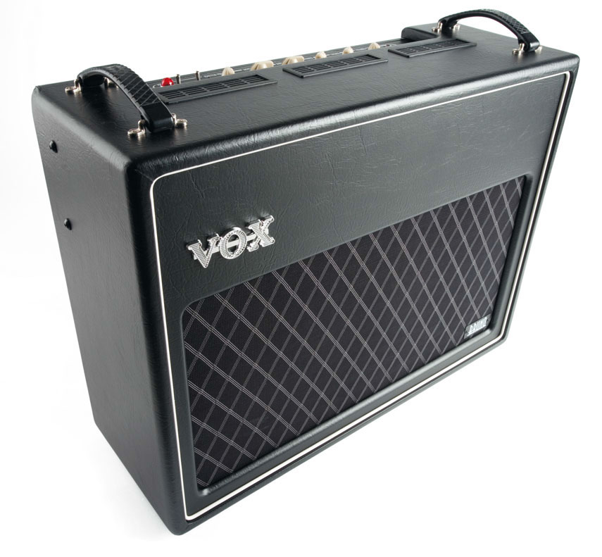 Combo-E-Gitarren-Verstärker von Vox, schwarz