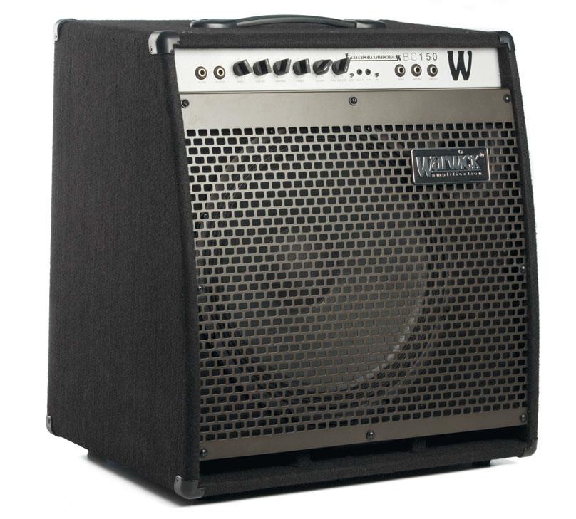 Bass-Kofferverstärker von Warwick, schwarz/grau